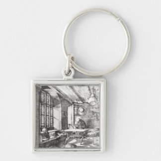 St Jerome in his Study 1514 Key Chain