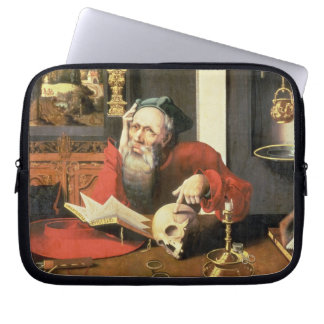 St. Jerome in his Study Computer Sleeve