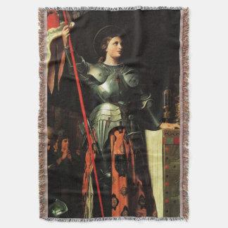 St Joan of Arc Catholic Saint 2 Blanket