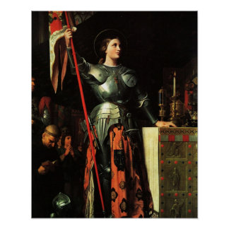 St Joan of Arc Poster