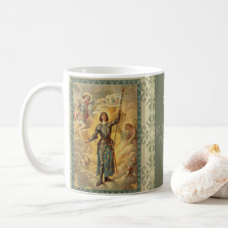 St. Joan of Arc St. Michael Angels Soldie Coffee Mug