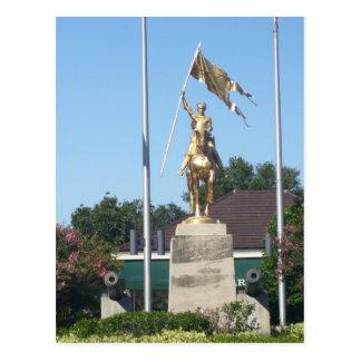St. Joan of Arc Statue Postcard