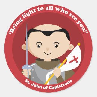 St. John Capistrano Classic Round Sticker