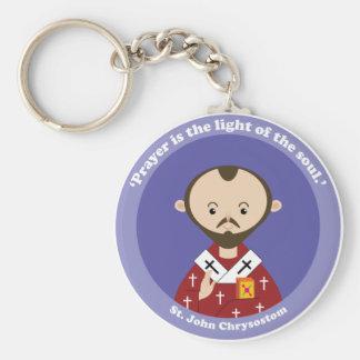 St. John Chrysostom Keychain
