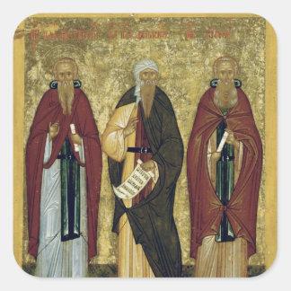 St. John Climacus  St. John of Damascus Square Sticker