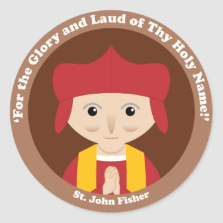 St. John Fisher Classic Round Sticker