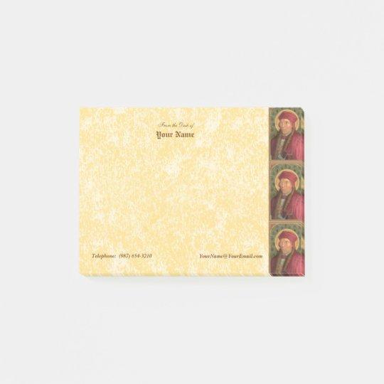 "St. John Fisher (SAU 025) Horizontal 4""x3"" Post-it® Notes"