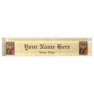 St. John Fisher (SAU 025) Nameplates