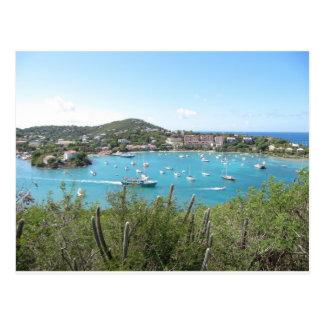 St. John In the US Virgin Island Postcard