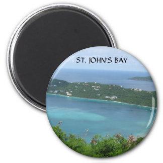 ST JOHN S BAY FRIDGE MAGNET