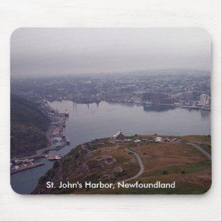 St John s Harbor Newfoundland Mousepad