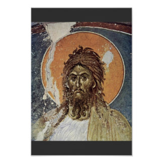 St. John The Baptist By Meister Von Gracanica  (Be Poster