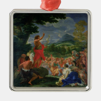 St. John the Baptist Preaching, painted before 169 Metal Ornament