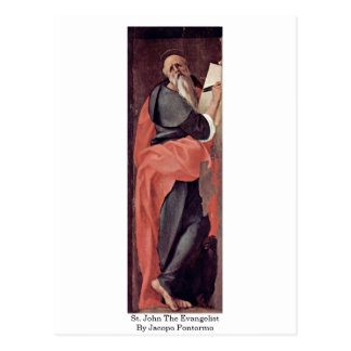 St. John The Evangelist By Jacopo Pontormo Postcard