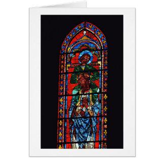 St. John the Evangelist riding the shoulders of Ez Card