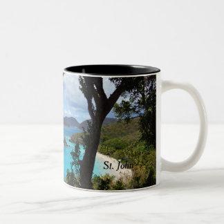 St. John Two-Tone Coffee Mug