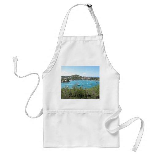 St. John US Virgin Island Aprons