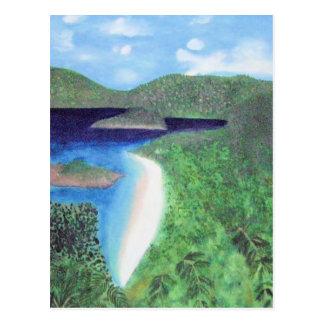 St John, US Virgin Islands Beach View Postcard