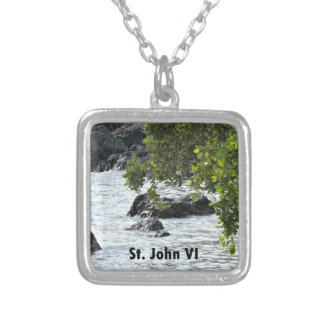 St. John VI Silver Plated Necklace