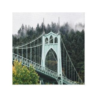 St. John's Bridge Canvas Print
