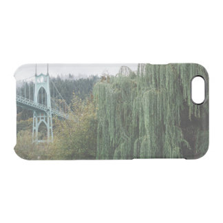 St. John's Bridge from Cathedral Park Clear iPhone 6/6S Case