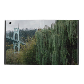 St. John's Bridge from Cathedral Park iPad Case