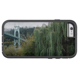 St. John's Bridge from Cathedral Park Tough Xtreme iPhone 6 Case