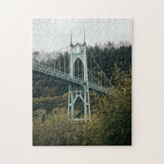 St. John's Bridge in Portland Jigsaw Puzzle