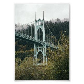 St. John's Bridge in Portland Photo Print