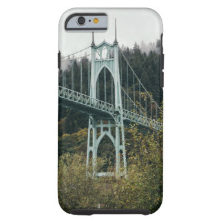 St. John's Bridge in Portland Tough iPhone 6 Case