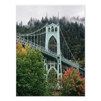 St. John's Bridge Photo Print