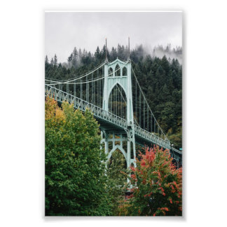 St. John's Bridge Photographic Print