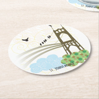 St. Johns Bridge Portland Coaster