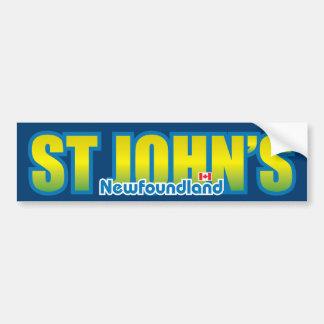 St Johns Bumper Bumper Sticker