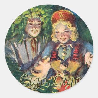 St. John's Day (summer solstice) sticker