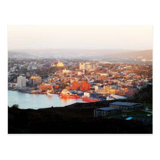 St. John's In The Morning Sun Postcard