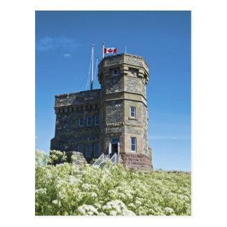 St. John's, Newfoundland, Canada, Cabot Tower, Postcard
