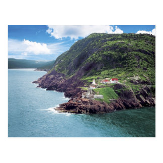 St. John's, Newfoundland, Canada, historic Fort Postcard