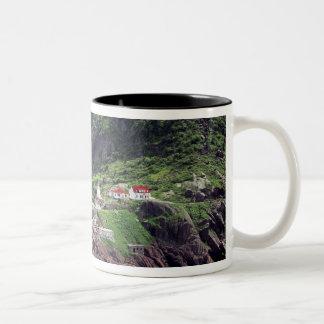 St. John's, Newfoundland, Canada, historic Fort Two-Tone Coffee Mug