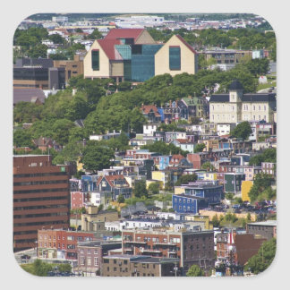 St. John's, Newfoundland, Canada, the Square Stickers