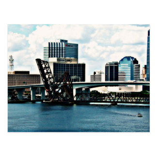 St. Johns River in Downtown Jacksonville, Florida Postcard