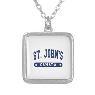 St. John's Silver Plated Necklace