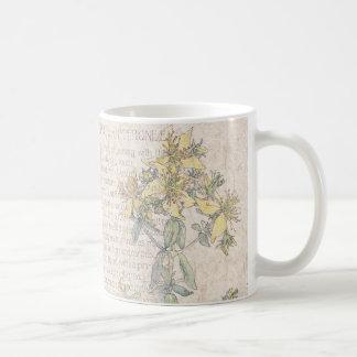 St Johns Wort Wildflower Flowers Meadow Mug