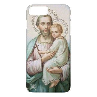 St. Joseph Baby Jesus Cross Lily iPhone 8 Plus/7 Plus Case