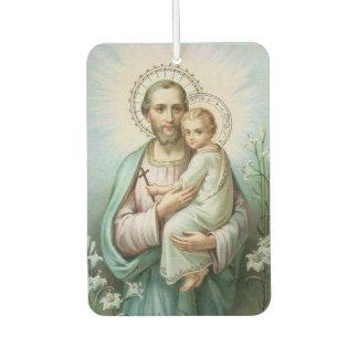 St. Joseph Baby Jesus  Lily Air Freshener