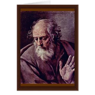 St. Joseph By Reni Guido Card