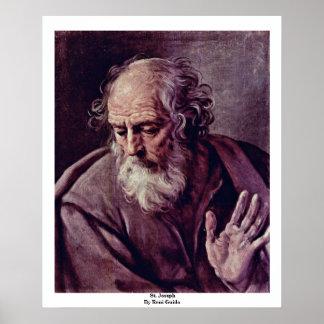 St. Joseph By Reni Guido Poster