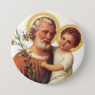 St. Joseph Child Jesus Button - Gift idea!