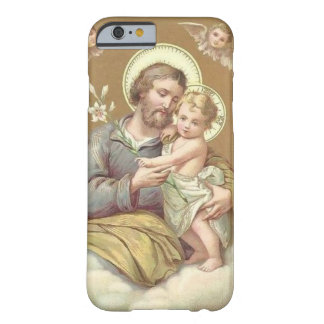 St. Joseph & Child Jesus Lily Cherubgs Barely There iPhone 6 Case