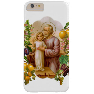 St. Joseph Child Son Jesus Fruit Vegetables Flower Barely There iPhone 6 Plus Case